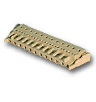 Picture of 12-PIN RM 7,5 Spring Terminal Block WAGO CREAM
